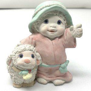 "DREAMSICLES Nativity ""Shepherd & Sheep"" 1995"
